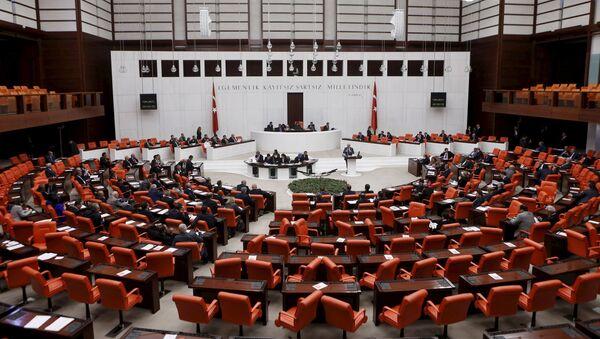 Turecký parlament - Sputnik Česká republika