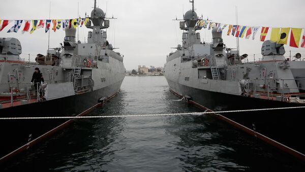 Lodě v Sevastopolu - Sputnik Česká republika