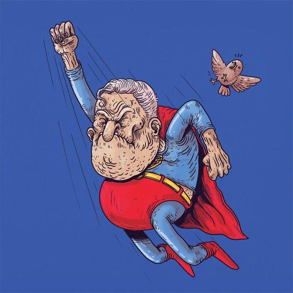 Co kdyby superhrdinové zestárli jako všichni? - Sputnik Česká republika
