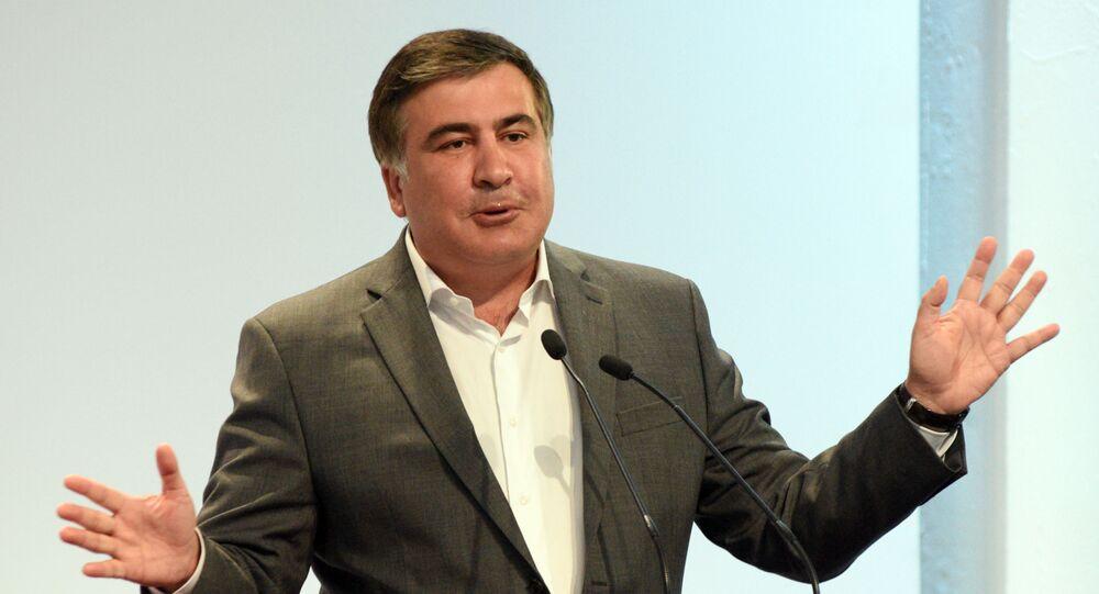 Michail Saakašvili. Ilustrační foto