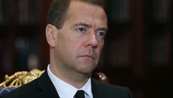 premiér Ruska Dmitrij Medvěděv - Sputnik Česká republika