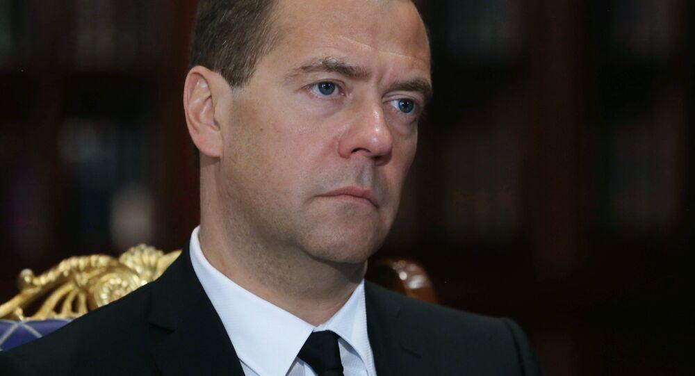 premiér Ruska Dmitrij Medvěděv