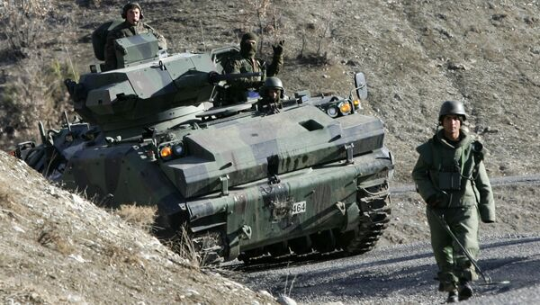 Turečtí vojáci - Sputnik Česká republika