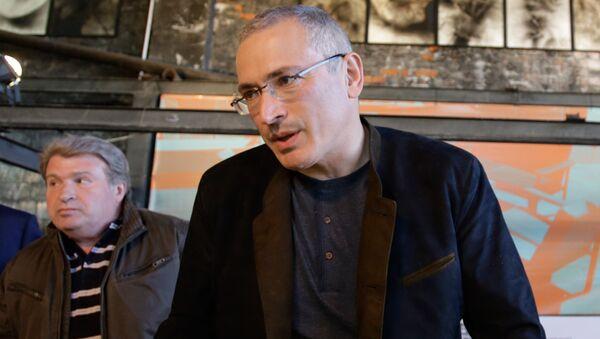 Bývalý majitel ropné společnosti JUKOS Michail Chodorkovskij - Sputnik Česká republika
