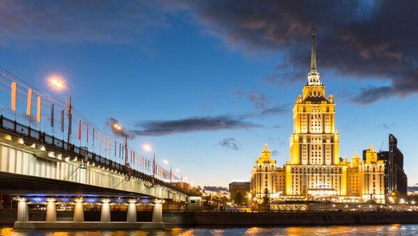 Hotel Ukrajina v Moskvě - Sputnik Česká republika