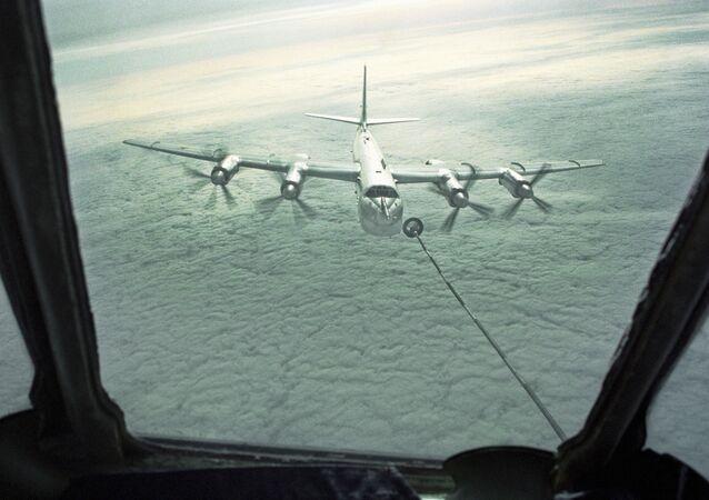 Strategický raketový bombardér Tu-95MS