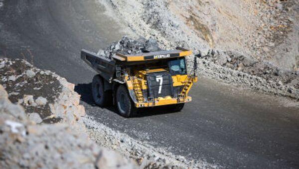 Zlatý důl Pioner (pionýr) v Amurské oblasti - Sputnik Česká republika