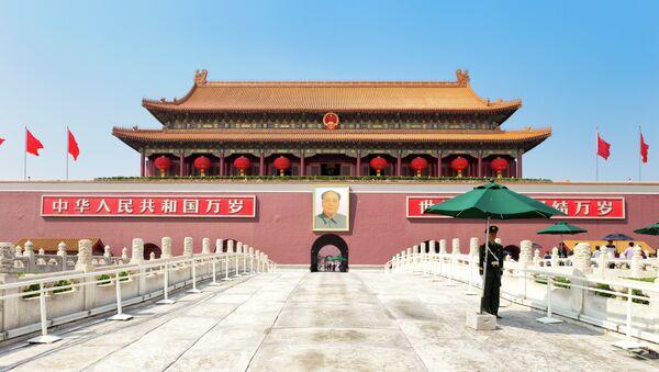Brána Nebeského klidu v čínském Pekingu - Sputnik Česká republika