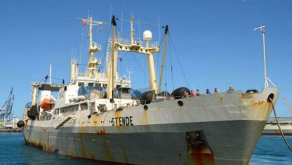 Pátrací operace v oblasti katastrofy trauleru v Ochotském moři - Sputnik Česká republika