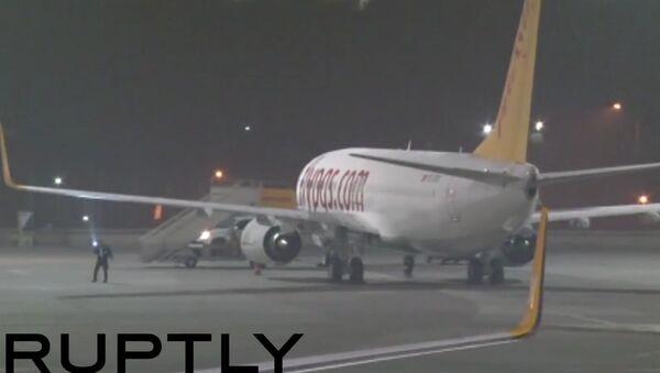 Záběry z místa výbuchu na letišti v Istanbulu - Sputnik Česká republika