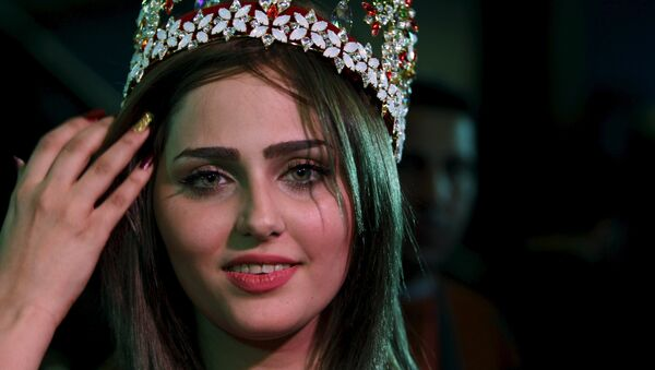 Miss Irák Shaima Qassem - Sputnik Česká republika