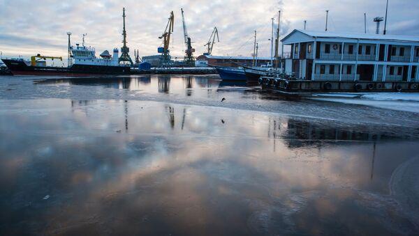 Zima na Oněžském jezeře - Sputnik Česká republika