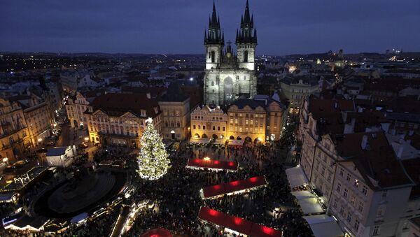 Vánoční Staroměstské náměstí v Praze v roce 2015. Ilustrační foto - Sputnik Česká republika