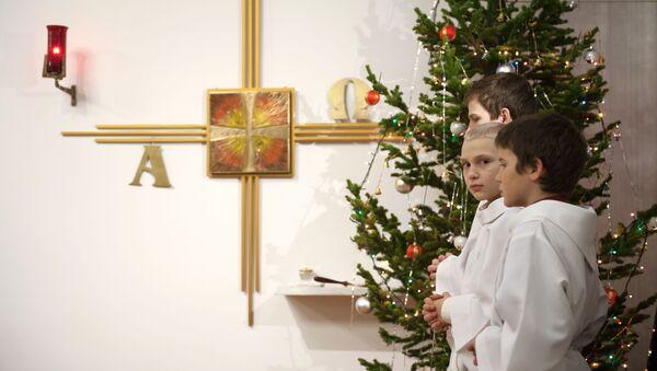Katolické vanoční oslavy - Sputnik Česká republika