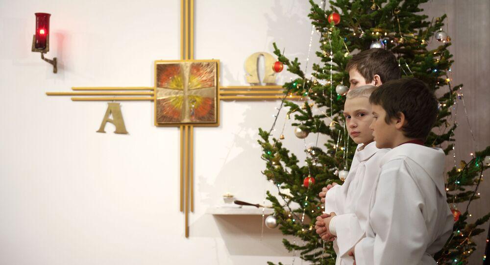 Oslava Vánoc. Ilustrační foto