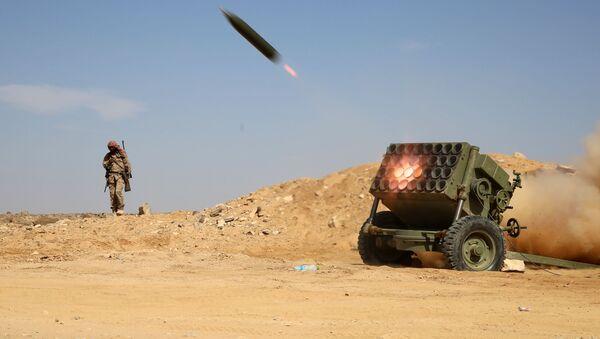 Odpalovací rampa Výboru lidového odporu Jemenu - Sputnik Česká republika