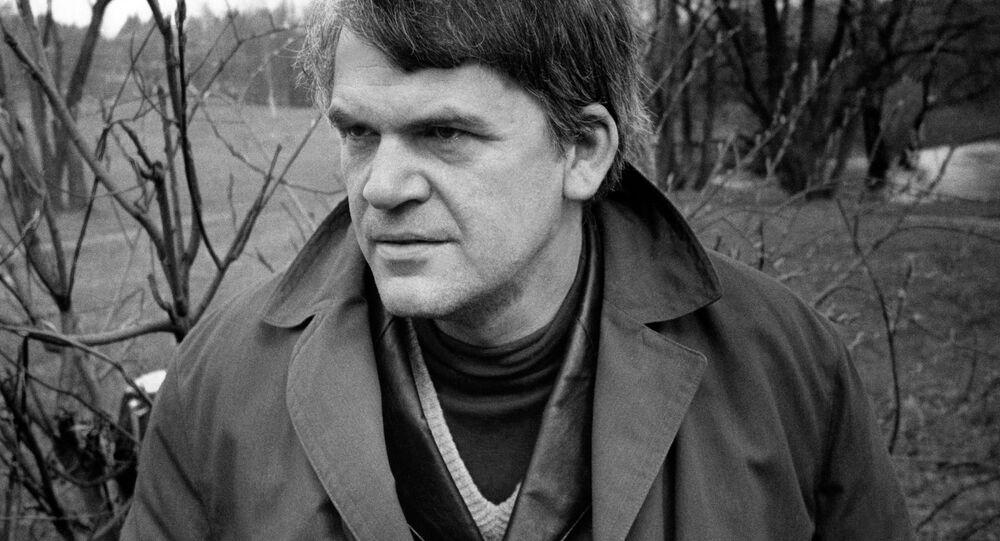 český spisovatel Milan Kundera
