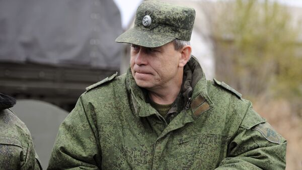 Zástupce velitele štábu domobrany DLR Eduard Basurin. Ilustrační foto - Sputnik Česká republika