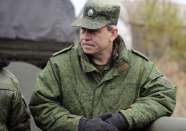 Zástupce velitele štábu domobrany DLR Eduard Basurin