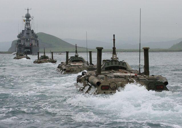 Cvičení Tichomořské flotily