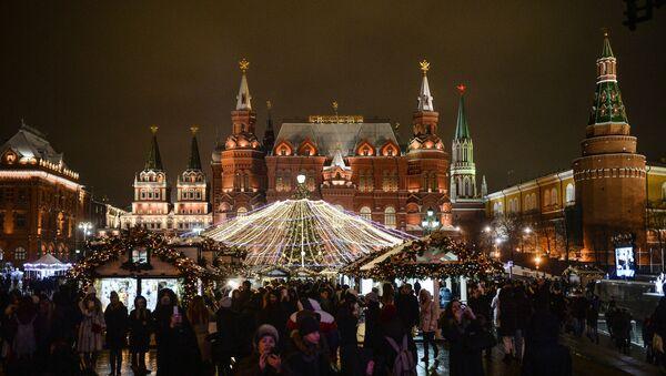 Vánoční Moskva - Sputnik Česká republika