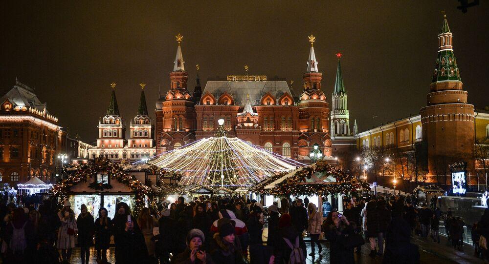 Vánoční Moskva
