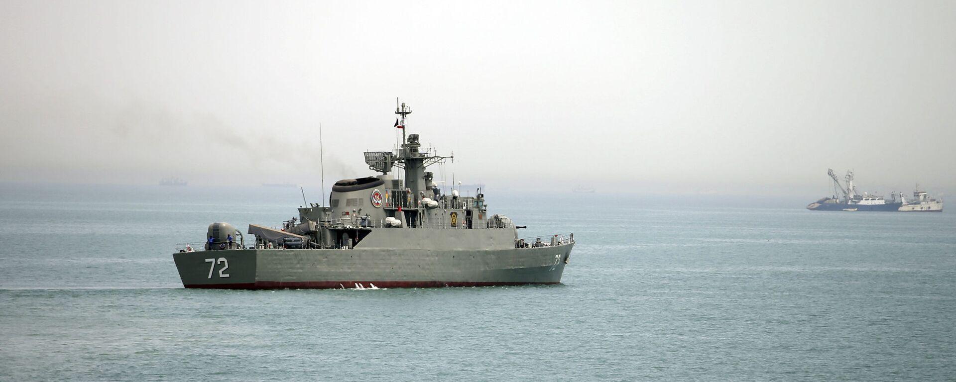 Íránská vojenská loď Alborz - Sputnik Česká republika, 1920, 18.04.2021