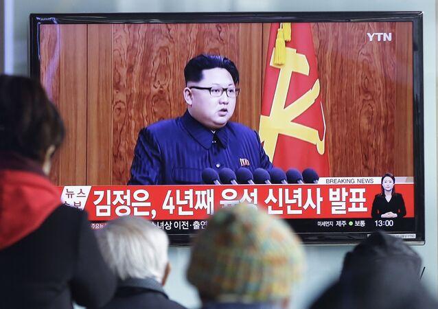 Předák KLDR Kim Čong-un vystoupil v pátek s 29minutovým novoročním poselstvím k lidu.