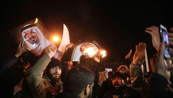 Útok na velvyslanectví Saúdské Arábie v Íránu - Sputnik Česká republika