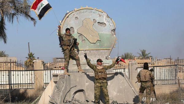 Iráčtí vojáci v Ramádí - Sputnik Česká republika