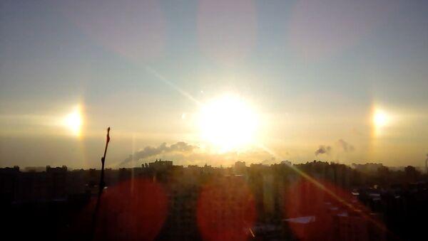 Paslunce vzešla nad Petrohradem - Sputnik Česká republika
