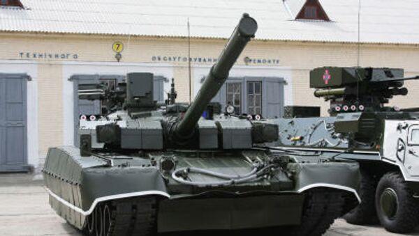 Ukrajinský tank T-84 Oplot - Sputnik Česká republika
