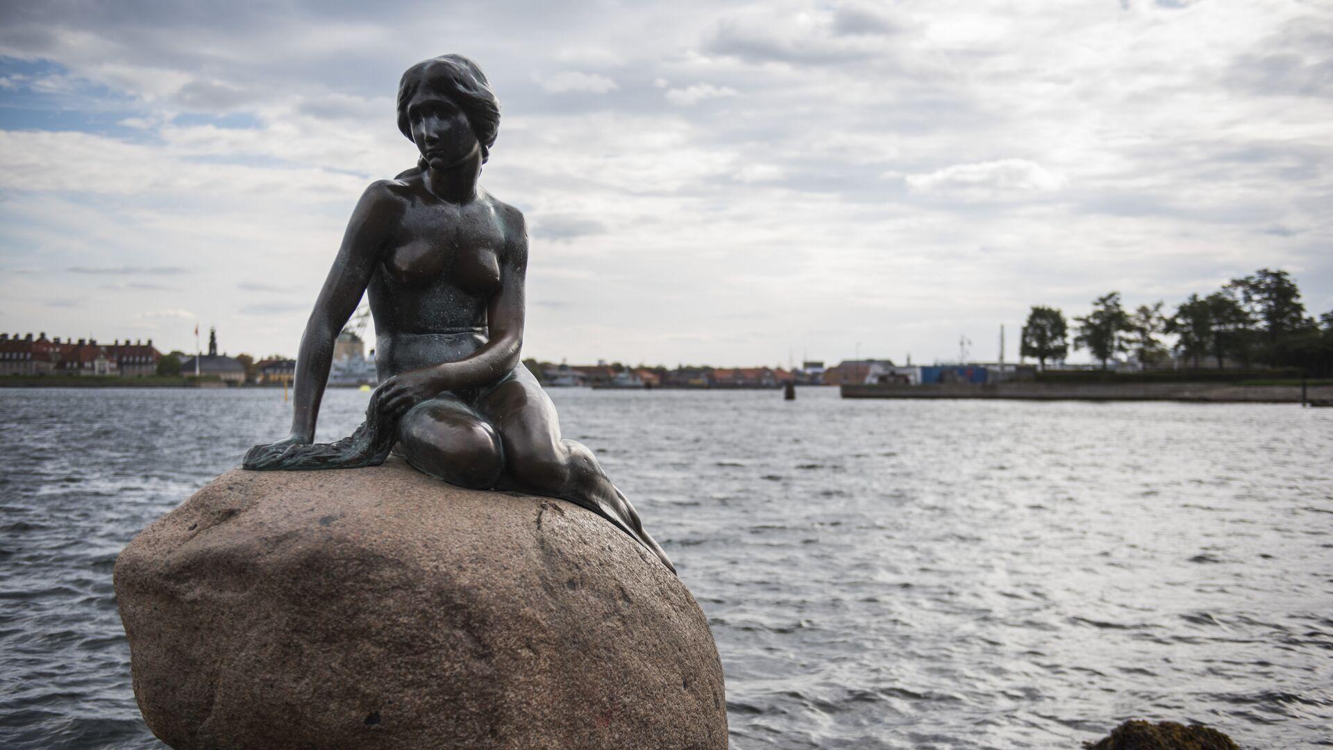 Socha malé mořské víly, Kodaň - Sputnik Česká republika, 1920, 03.06.2021