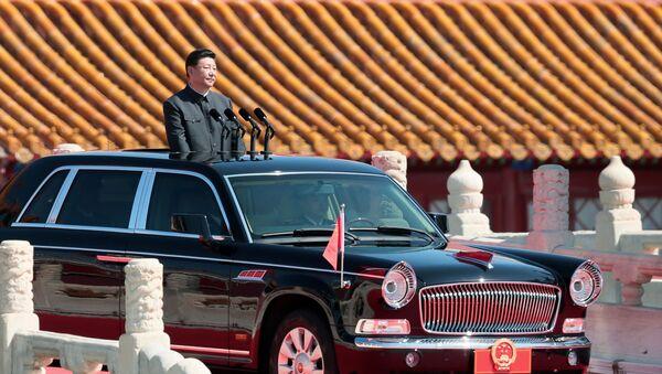 Přehlídka vítězství v Pekingu - Sputnik Česká republika