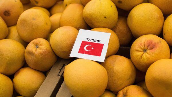 Turecké mandarinky - Sputnik Česká republika