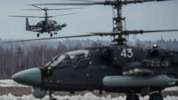 Ка-52 - Sputnik Česká republika