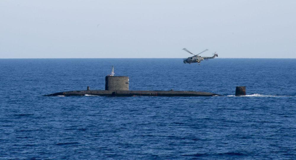 Britská ponorka HMS Talent