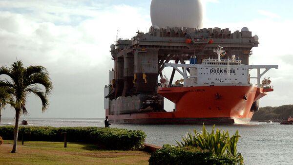 Plovoucí radiolokační komplex SBX (Sea Based X-Band) - Sputnik Česká republika
