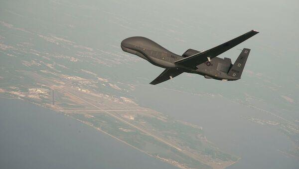Bezpilotní letoun RQ-4A Global Hawk  - Sputnik Česká republika