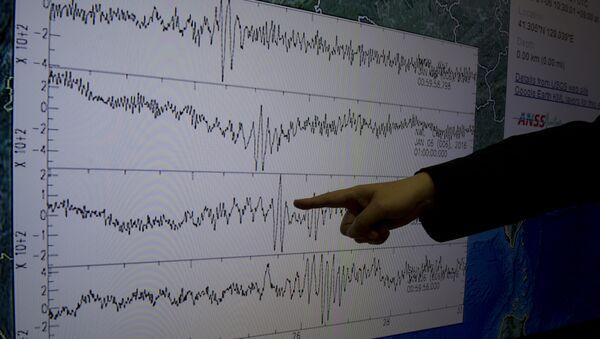 Tabule s údaji po zkoušce - Sputnik Česká republika
