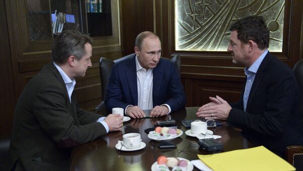 Vladimir Putin poskytl interview pro německý časopis Das Bild - Sputnik Česká republika