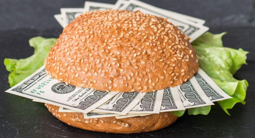 Dolary v hamburgeru