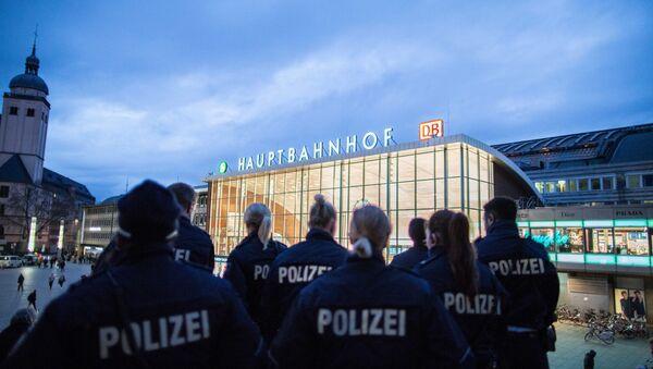 Policie u nádraží v Kolíně. Ilustrační foto - Sputnik Česká republika