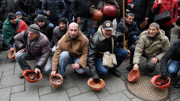 Horníci v Kyjevě - Sputnik Česká republika