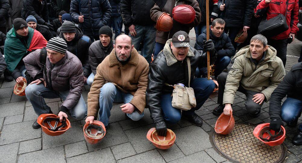 Horníci v Kyjevě