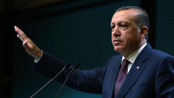 Prezident Turecka Recep Tayyip Erdogan - Sputnik Česká republika