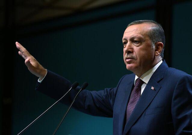 Prezident Turecka Recep Tayyip Erdogan