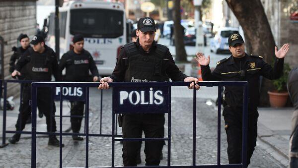 Turečtí policisté - Sputnik Česká republika