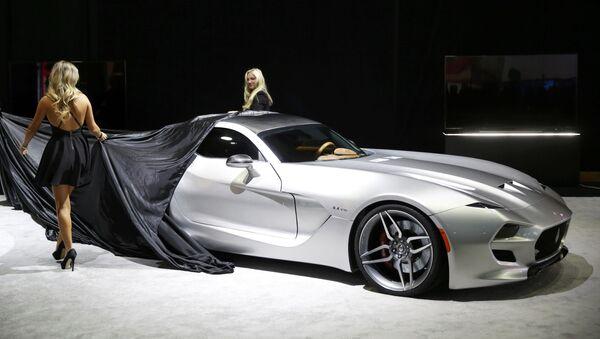 Novinky na mezinárodním autosalonu v Detroitu - Sputnik Česká republika