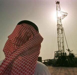 Těžba ropy v Saúdské Arábii společností Saudi Aramco